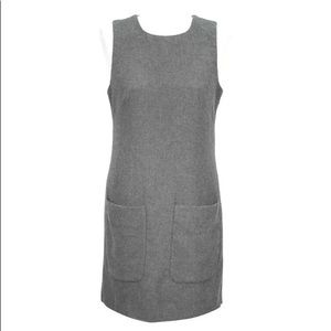 French Connection Gray Jumper Dress XS